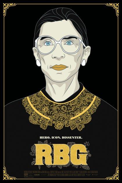 """RBG"", afiche del documental"