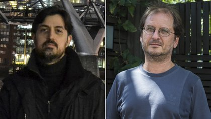 Alejandro Galliano y Martin Kohan