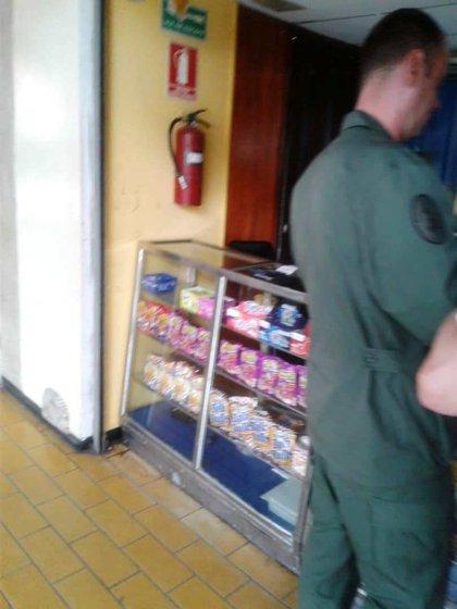 Ruso con uniforme del ejército venezolano.