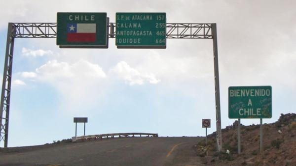 El paso fronterizo de Jama, en la provincia de Jujuy