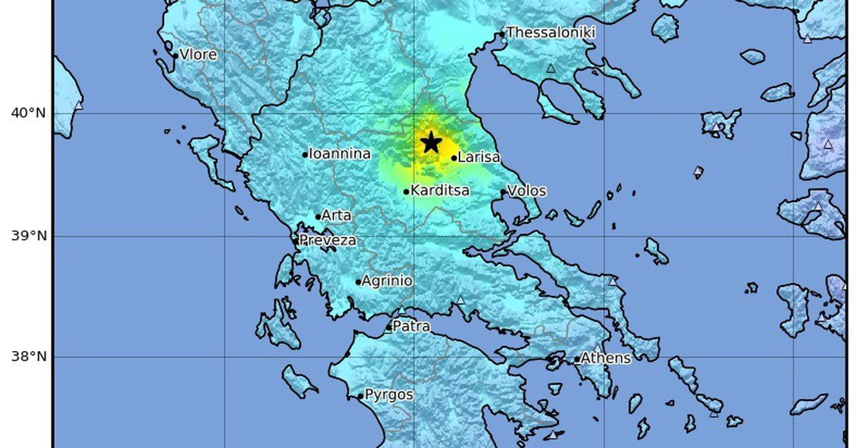 A magnitude 6 earthquake shakes Greece, without victims for now