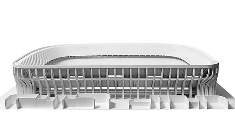 Proyecto de la ampliación de la Bombonera