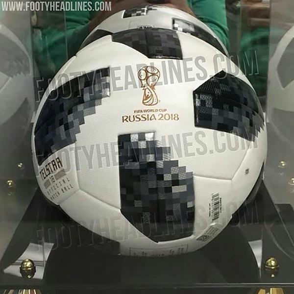Así sería la Adidas Telstar 18, la pelota de la próxima Copa Mundial de la FIFA