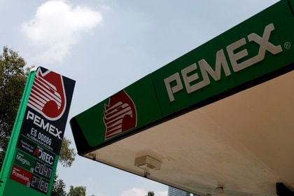 Vista de una estación de servicio de Pemex en Ciudad de México, Septiembre 17, 2019. REUTERS/Edgard Garrido
