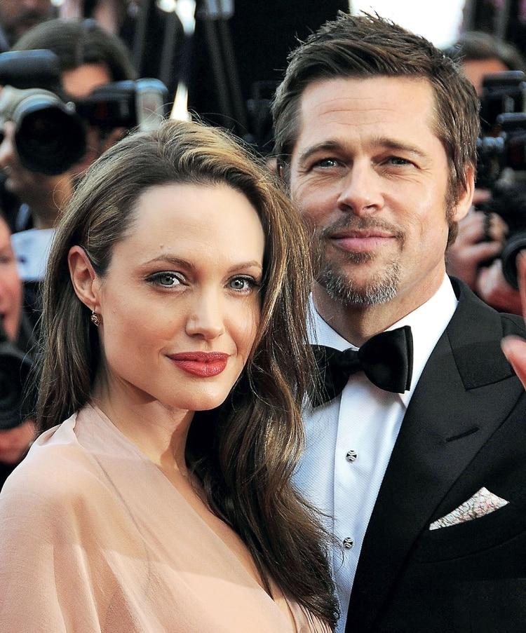Angelina Jolie y Brad Pitt anunciaron su separación en 2016