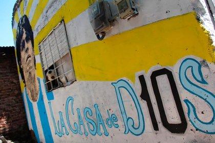 En Villa Fiorito renombrarán la calle de la casa donde se crió el Diez
