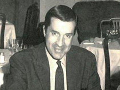 Juan Carlos Pérez Loizeau en su juventud