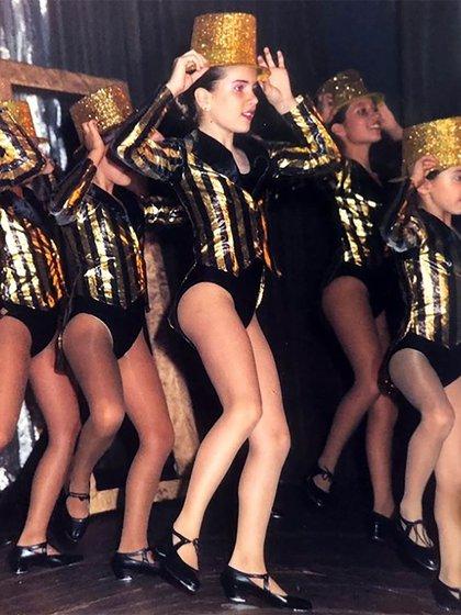 """""""Mis papás me llevaban a tomar clases de baile, me ayudaron a formarme y hoy estoy trabajando gracias a lo que ellos hicieron por mí"""""""