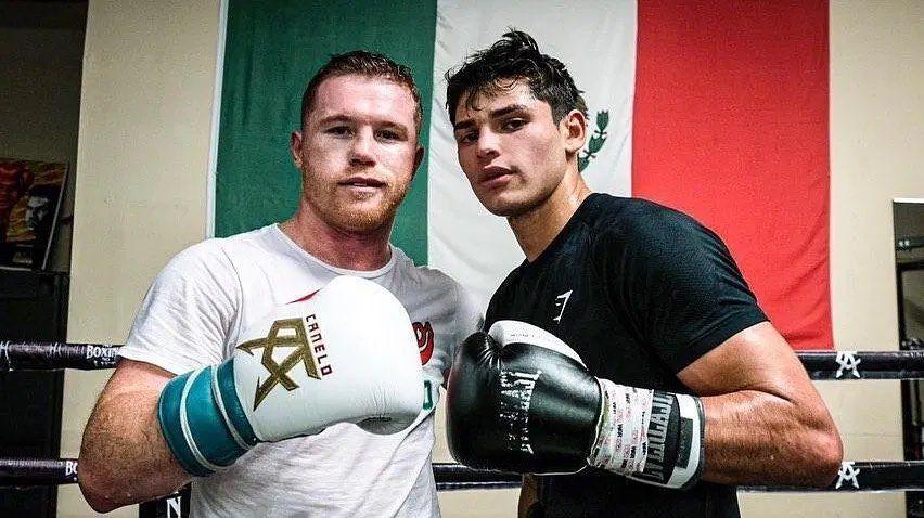 Canelo Álvarez y Ryan García