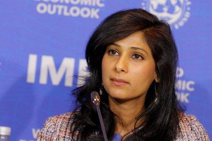 15/07/2020 Gita Gopinath, economista jefe del FMI ECONOMIA FMI
