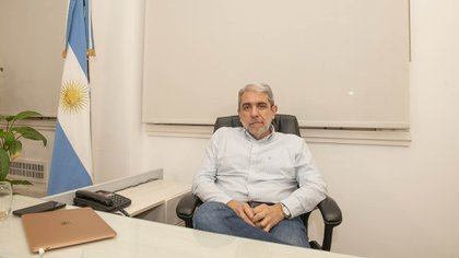 El ex ministro del Interior Aníbal Fernández (Gastón Taylor)