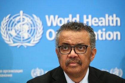 El director general de la OMS, Tedros Adhanom Ghebreyesus (Foto: Reuters/ Denis Balibouse)