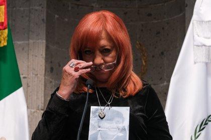 María de Rosario Piedra Ibarra, presidenta de la Comisión de los Derechos Humanos (CNDH) (Foto: Graciela López / Cuartoscuro)