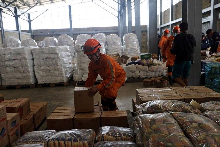 Punto de acopio en Cúcuta (REUTERS/Luisa Gonzalez)