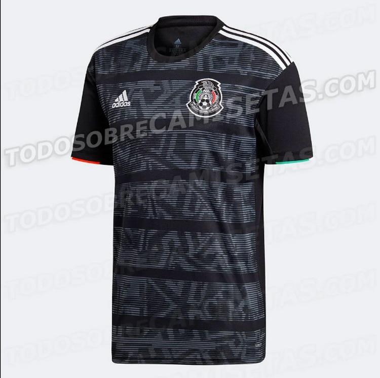 Filtraron la nueva camiseta de la selección mexicana que lucirá en ... 648f176df4597