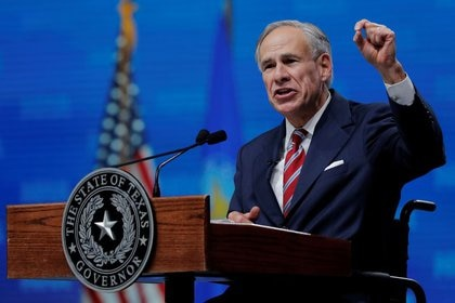 Foto de archivo: El gobernador de Texas, Greg Abbott. REUTERS/Lucas Jackson