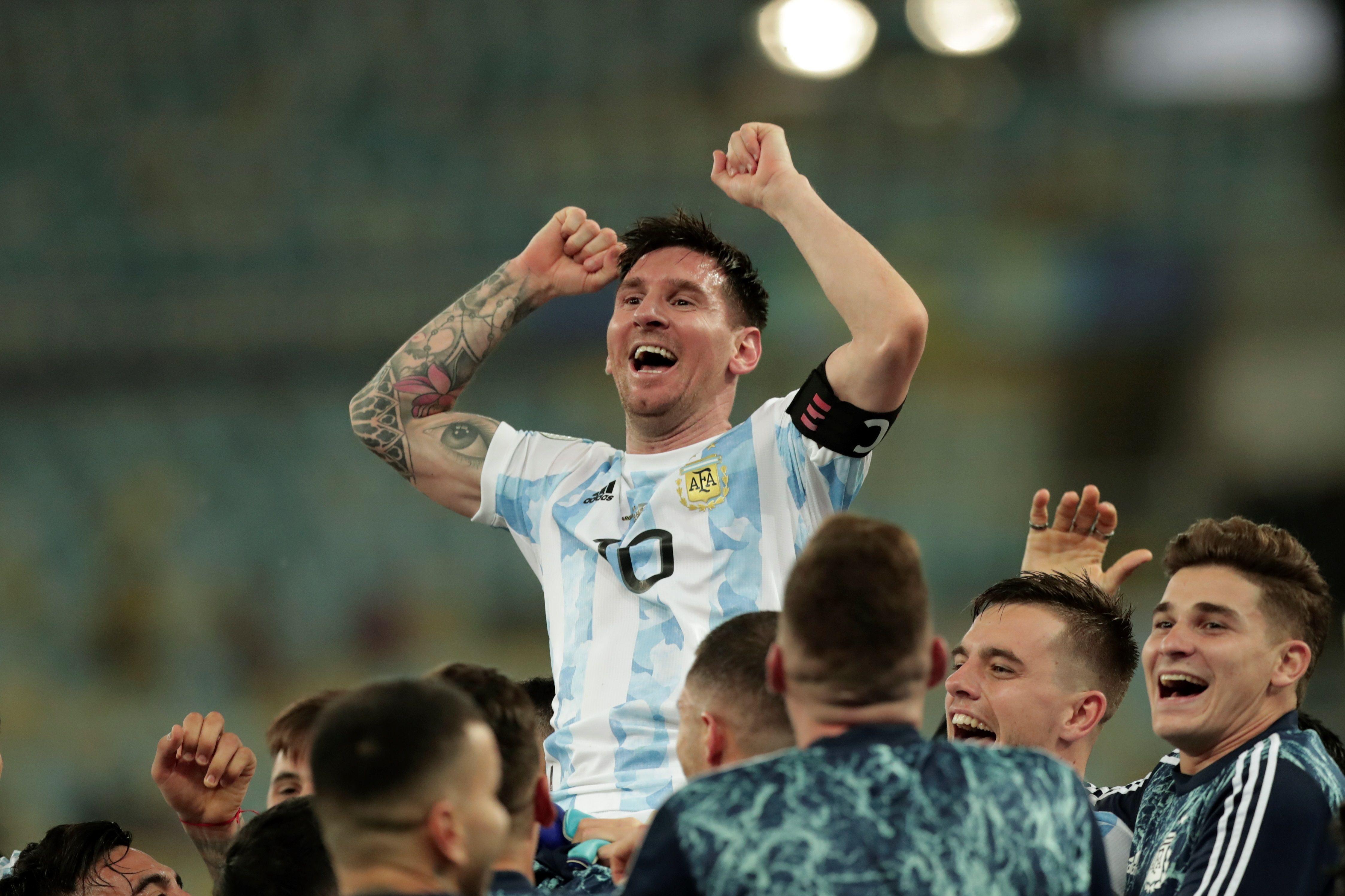 En la Copa América de Brasil 2019 el rosarino dejó de ser un líder más bien silencioso para transformarse en otro más combativo y proactivo
