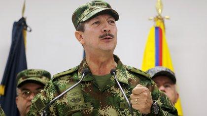 Nicacio Martínez, comandante del ejército de Colombia. (Reuters)