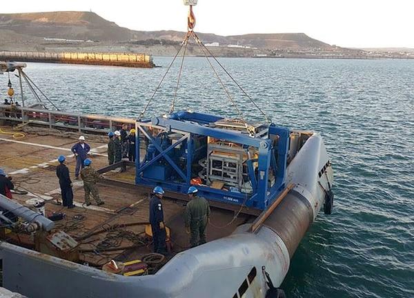 El minisubmarino Pantera Plus, abocado a la búsqueda del ARA San Juan