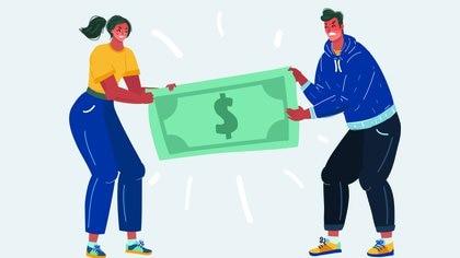 Una vez iniciado el divorcio o separación personal suele darse un agravamiento de la violencia económica y patrimonial (Shutterstock)