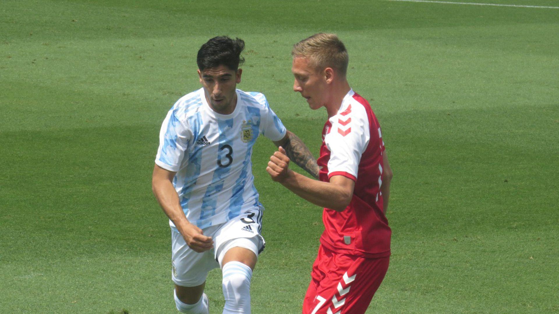 Argentina vs Dinamarca Sub 23