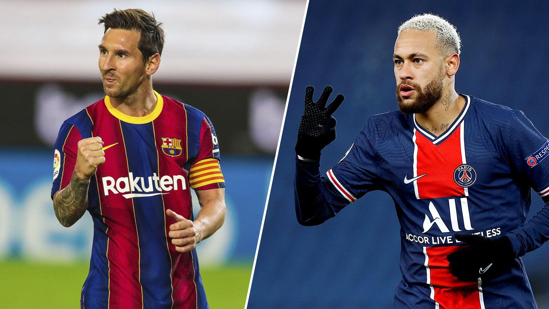 Messi Neymar Champions
