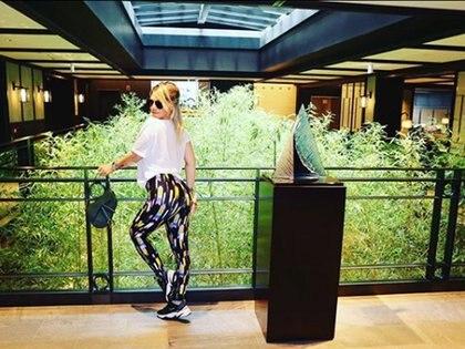 Wanda Nara y Mauro Icardi en Japon (Instagram)