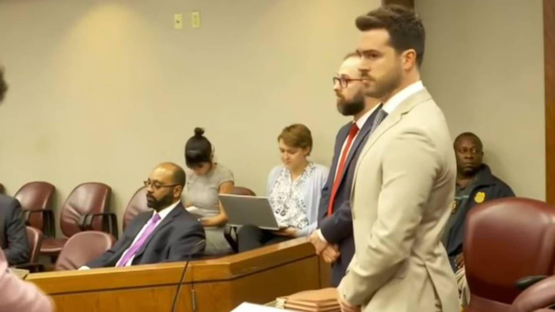 Pablo Lyle ha permanecido en Miami para atender el caso, sin posibilidad de trabajar (Foto: Captura pantalla Telemundo)