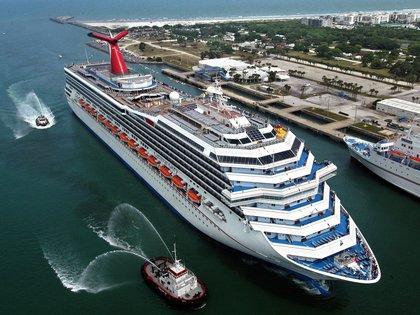 Vista del crucero Carnival Glory. EFE/Archivo