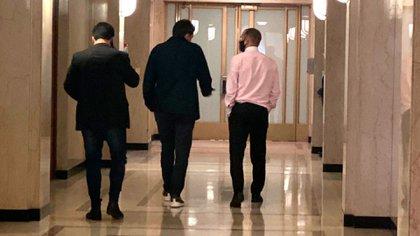 El viernes el ministro Martín Guzmán almorzó en su despacho con el presidente de la Cámara de Diputados, Sergio Massa