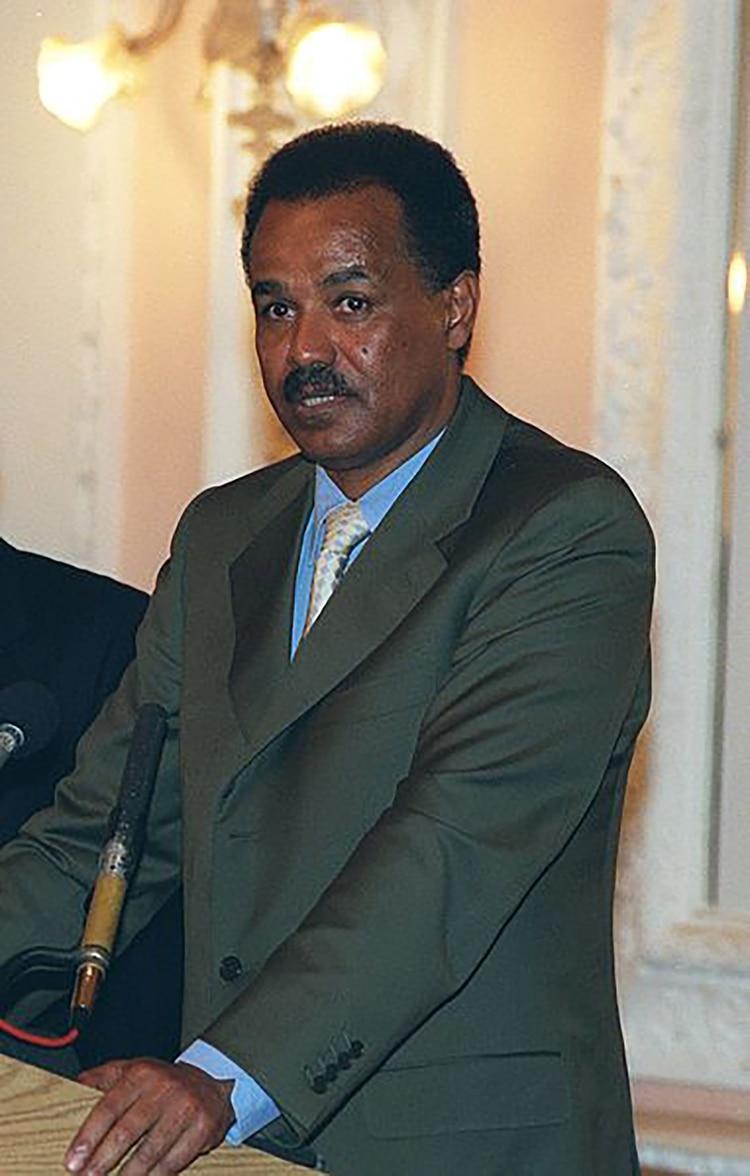 Isaias Afewerki, presidente de Eritrea