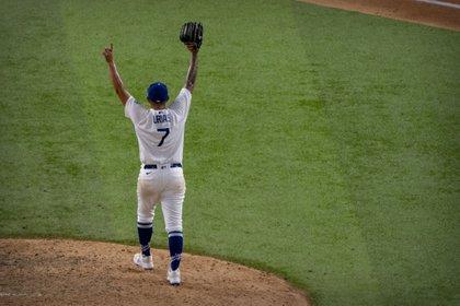 Julio Urías fue firmados por los Dodgers en en 2012 y en 2016 hizo su debut con la organización (Foto: Jerome Miron-USA TODAY Sports)