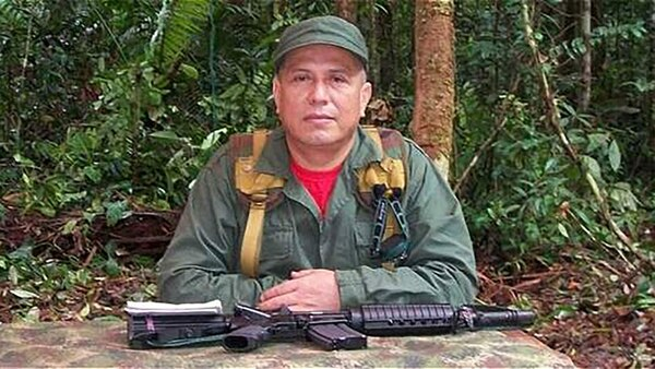 Géner García Molina es nieto de Roque Molina, alias 'El Diablo', uno de los primeros campesinos en alzarse en armas en los años sesenta, junto a alias 'Tirofijo', en Tolima, donde nacieron las FARC.