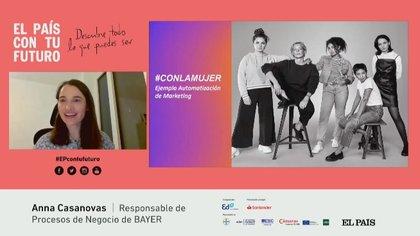 17/12/2020 La responsable de marketing digital de Bayer en las áreas de salud, Anna Casanovas, SOCIEDAD ESPAÑA EUROPA MADRID SALUD BAYER