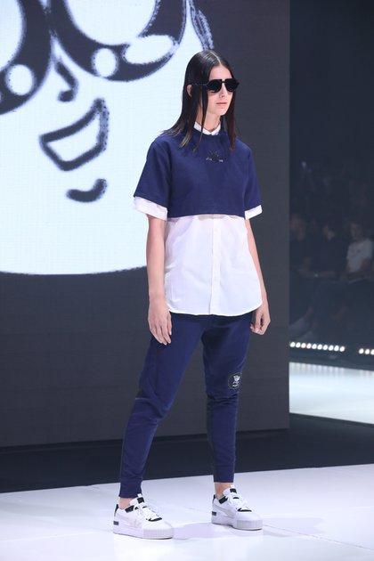 Con espíritu deportivo, así fueron los diseños que el diseñador Edu De Crisi presentó en BAFWEEK