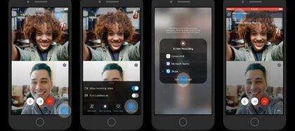 Los usuarios de Skype podrán compartir sus pantallas al momento de realizar videollamadas (Foto: Microsoft)