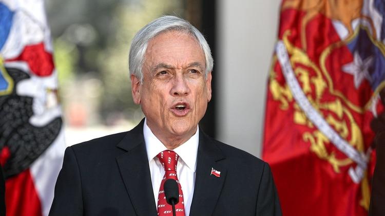 Sebastián Piñera, presidente de Chile (AP)