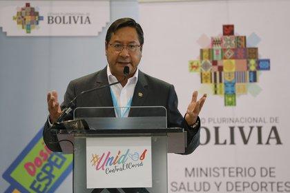El presidente de Bolivia, Luis Arce, EFE/Martín Alipaz