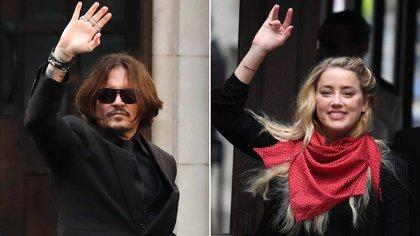 """Johnny Depp afrontará la semana próxima en Londres la recta final del juicio por difamación contra """"The Sun""""."""