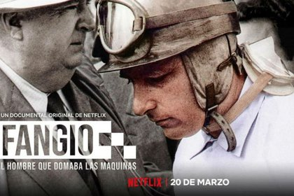 """Fangio"" (Imagen: Netflix)."