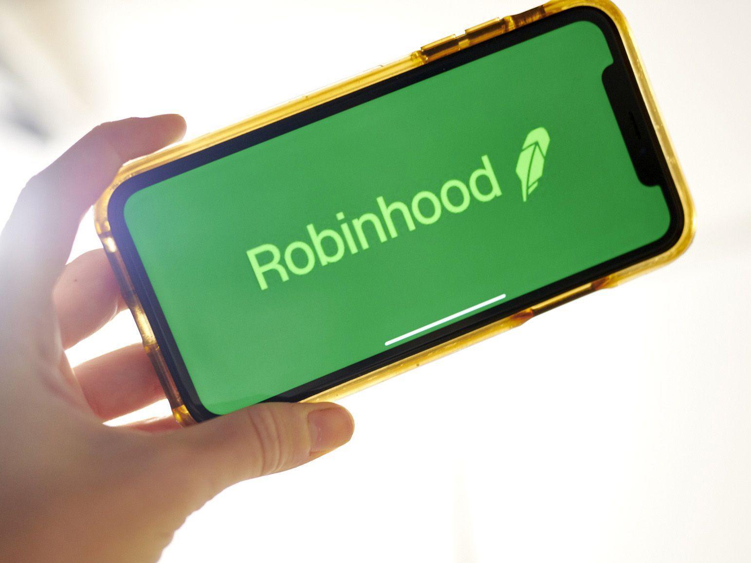Robinhood creció en popularidad esta semana (Gabby Jones/Bloomberg)