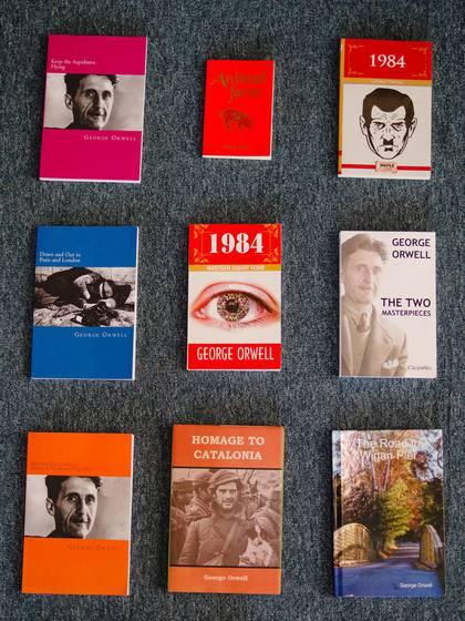 Las ediciones adquiridas por el reportero tenían títulos incorrectos, erratas, portadas con fotografías tomadas de Wikipedia y más detalles problemáticos