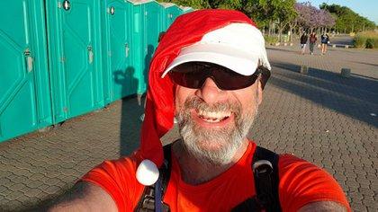 Luis Dalle Nogare, alias Daddy Noel Runner o Luigi Maratón