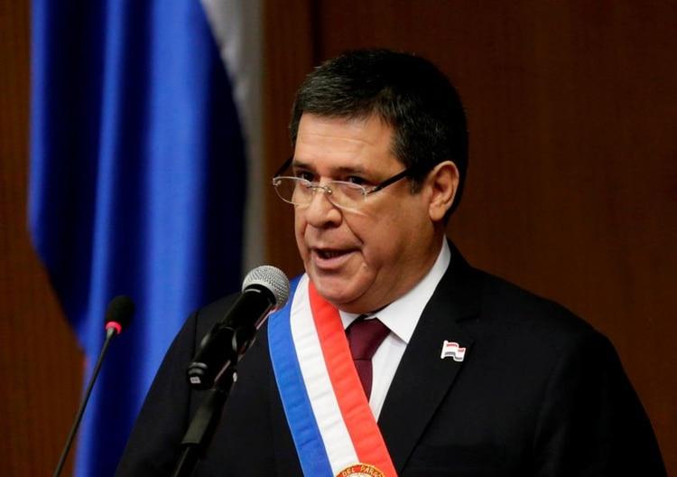 Horacio Cartes, presidente de Paraguay entre 2013 y 2018 (REUTERS/Jorge Adorno)