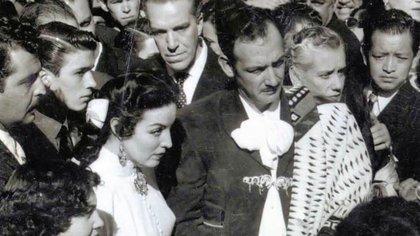 María Félix tuvo una pasional relación con Jorge Negrete que terminó en matrimonio (Foto: Especial)