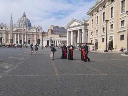 19/09/2020 Encuentro de la CEE con el Papa en Ciudad del Vaticano, (Italia), a 19 de septiembre de 2020. POLITICA EUROPA CIUDAD DEL VATICANO SOCIEDAD