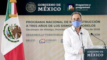 Esteban Moctezuma, titular de la Secretaría de Educación Pública (SEP) informó que del Programa Nacional de Reconstrucción, en el sector educativo, se han destinado 11,047 millones de pesos (Foto: @Sedatu_mx)