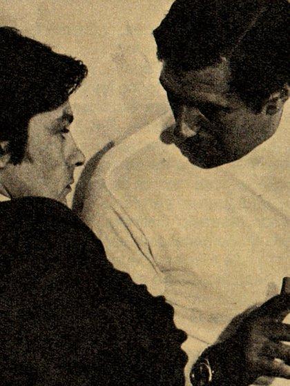 Lectoure tuvo una gran amistad con Alain Delon (Foto: Archivo Maximiliano Roldán)