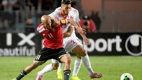 Túnez igualó 0-0 ante Libia y se aseguró el primer puesto del Grupo 1 de las Eliminatorias de África (AFP)