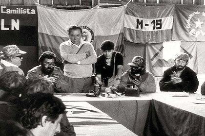 Jorge Salcedo ayudó a combatir a la guerrilla del M-19 como parte de las reservas del Ejército Nacional.